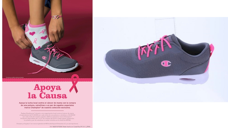 Del Payless Shoesource Cultura Para Promueve Cáncer La De Prevención lJTKcF1